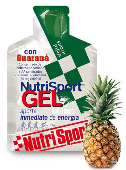 GEL CON GUARANA PIÑA 24 UDS