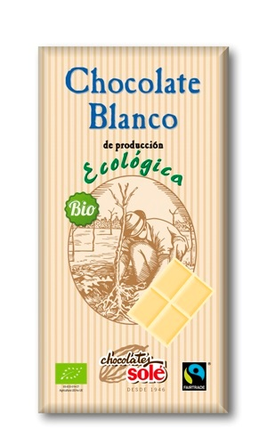 CHOCOLATE BLANCO ECO FT 100 gr