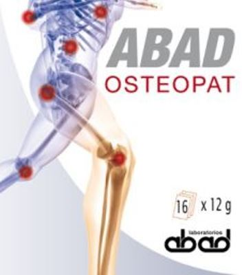 ABAD OSTEOPAT 16 Sobres