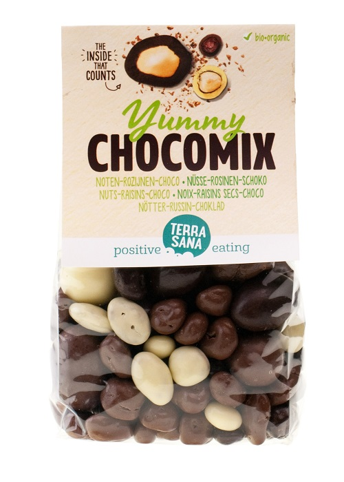 BOLAS CHOCOLATE FRUTOS SECOS Y PASAS 200 gr ECO