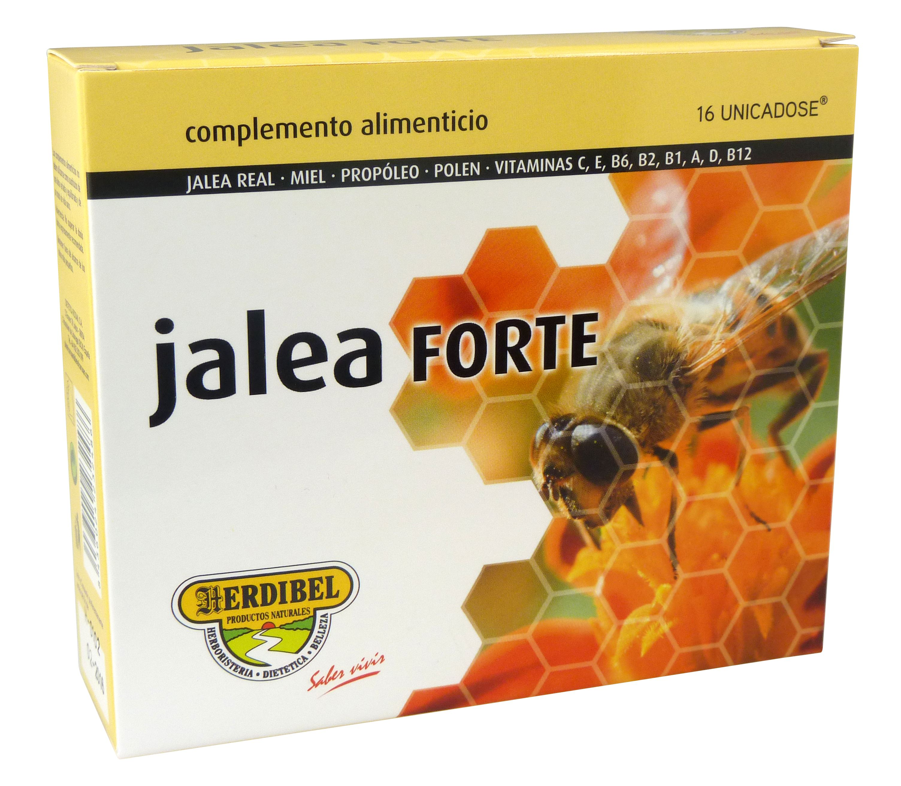 JALEA FORTE 16 Ampollas 10 ml.