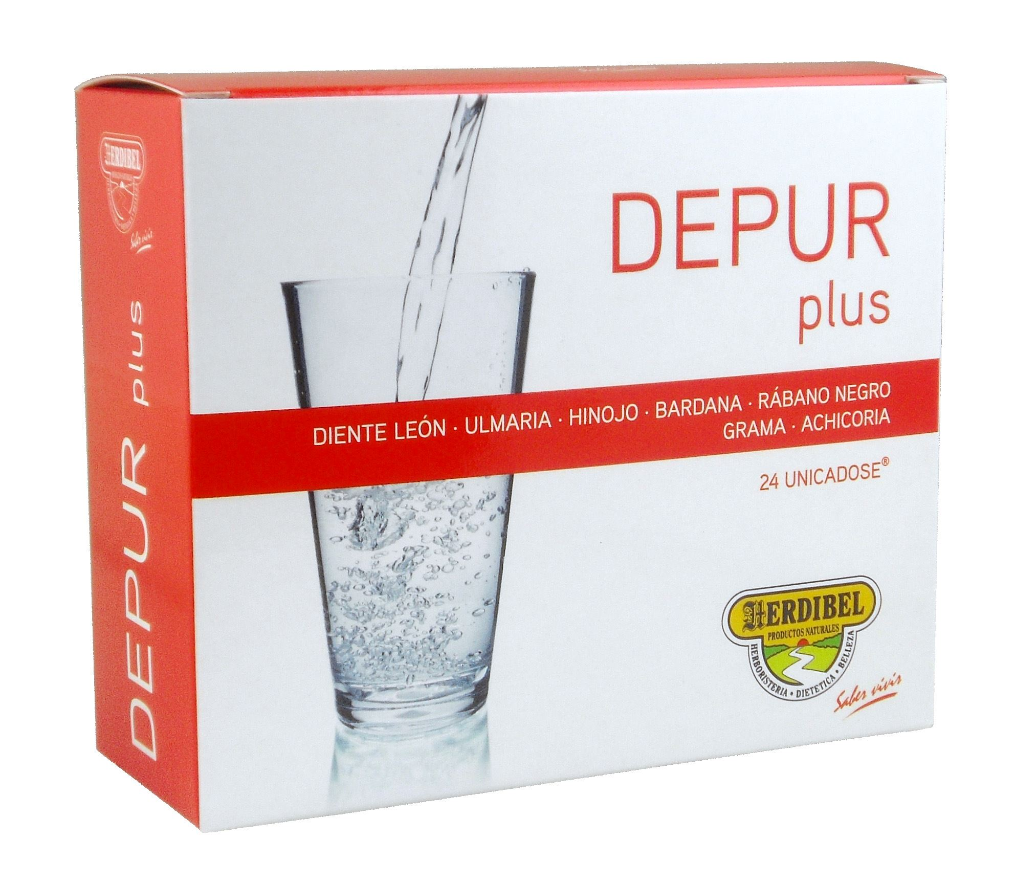 DEPUR PLUS 24 ampollas 10 ml.